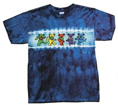 Grateful Dead Youth Size DANCING BEARS Tie Dye Kids Tshirt Tee Shirt Large 1416 -- To view further for this item, visit the image link.Note:It is affiliate link to Amazon.