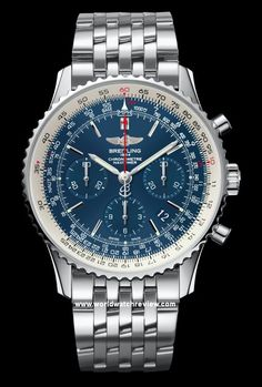 Breitling Navitimer Blue Sky Limited Edition Anniversary watch on a steel bracelet Breitling Navitimer, Breitling Superocean Heritage, Breitling Watches, Diesel Watches For Men, Best Watches For Men, Luxury Watches For Men, Cool Watches, Men's Watches, Fine Watches