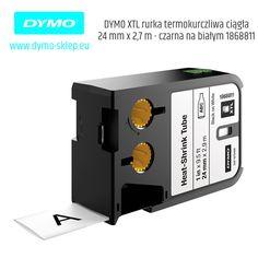 Poliolefinowe rurki termokurczliwe ciągłe DYMO Rhino XTL pozwalają czytelnie i trwale oznaczać kable o różnych średnicach, na kabel o Ǿ Min. 5.1mm – Max. 15.27mm. Rurki termokurczliwe tworzą podczas kurczenia izolację, zapewniającą bezpieczne dopasowanie do przewodów i kabli przy współczynniku obkurczania 3:1. POLECAMY!