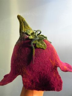 Your place to buy and sell all things handmade Elf Hat, Party Hats, Wearable Art, Wool Felt, Merino Wool, Craft Supplies, Gifts For Her, Dinosaur Stuffed Animal, Etsy Shop