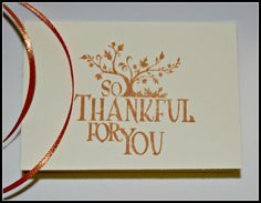 Thanksgiving Note Cards So Thankful For You by MoreFriendsAndCo, $1.50