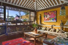 Gorgeous living room at Aquabarra Boutique Hotel & Spa - Buzios, Brazil