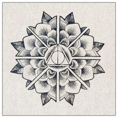 deathly hallows mandala - Google Search