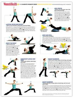 20-Minute Body-Shaping Yoga Workout: Get all the benefits of strength training and yoga in less than 30 minutes with this workout from Women's Health magazine