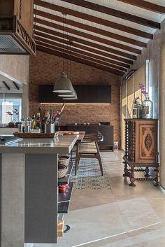 Architecture – Enjoy the Great Outdoors! Kitchen Interior, Kitchen Design, Cosy Kitchen, Pergola, Cottage Farmhouse, Small House Plans, Floor Design, Decoration, Sweet Home