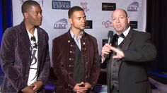 Interviewing Lotus Jackson and Young Duke at IVBCF Spring Fashion Show.