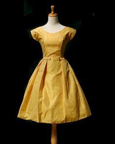 Vintage Cocktail Dress. via The Cools