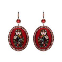 Axenoff Jewellery » Earrings «Matreshechka»