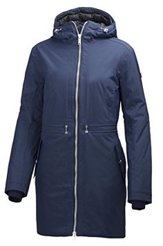 Helly Hansen Womens Idunn Parka Evening Blue Large >>> Continue to the product at the image link. (This is an affiliate link)