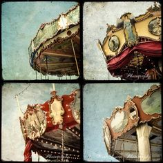 Mosaic Patchwork Carousels TTV Photo Collage by MarcoLaGrenouille
