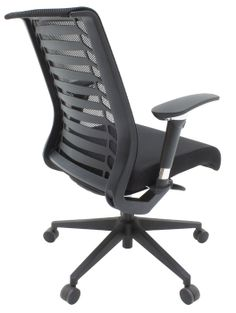 Eclipse 5300 Office Chair with vented mesh back and chrome accents- great option for the conference room.