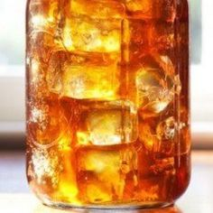"""Another Pinner said: """"Perfect Sweet Tea-there is a secret ingredient!This recipe from a genuine country gal who makes the best sweet tea in Texas!"""" Our family loves sweet tea, so I'll be trying this today! Refreshing Drinks, Summer Drinks, Fun Drinks, Beverages, Cold Drinks, Alcoholic Desserts, Smoothies, Smoothie Drinks, Think Food"""