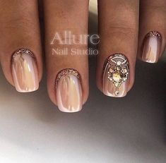 #manicure #nails #втирка, #naildesign