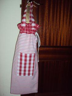 Bolsa-pan Quilting, Little Bag, Apron, Sewing, Handmade, Nostalgia, Lana, 1970s, Craft