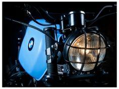 BMW r80 custom headlight grill
