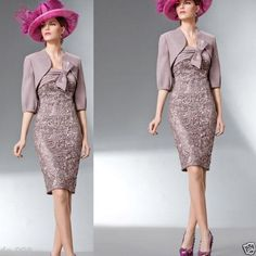 2015 Short Lace Mother Of The Bride Outfit With Jacket Formal Dress For Wedding Second Hand Mother Of The Bride Dresses Stylish Mother Of The Bride Dresses From Jasondress, $125.66| Dhgate.Com