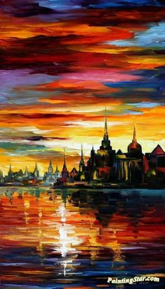 I saw a dream Artwork by Leonid Afremov Hand-painted and Art Prints on canvas for sale,you can custom the size and frame