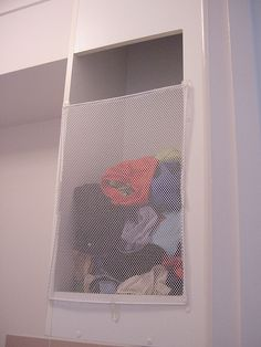 laundry chute catcher by ferrous, via Flickr