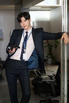 Lee Jong Suk - While you were sleeping BTS Still cut