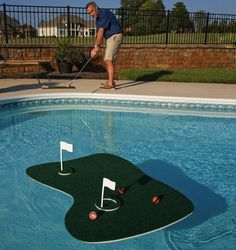 Aqua Golf – Practice your golf game in your pool!