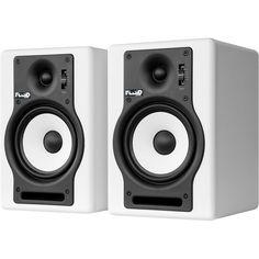 "Fluid Audio F5 5"" Active Studio Monitor - White (Pair)"