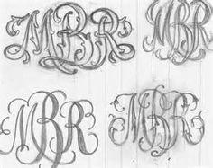 vintage monogram fonts - Bing Images