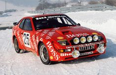 Hugo Boss Porsche 924 rally car