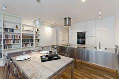 OOOOX | CORNLOFT - stainless steel kitchen island