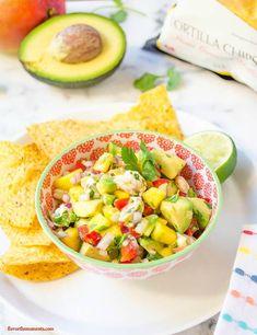 shrimp-ceviche-mango-avocado-salsa1 | flavorthemoments.com