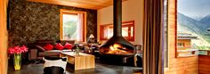 Chalet Chloe: a freestanding ski chalet, in Saas Fee, Switzerland. Saas Fee, Swiss Chalet, Swiss Alps, Val D'isère, St Moritz, Interior And Exterior, Interior Design, Chalet Style, Cozy Apartment