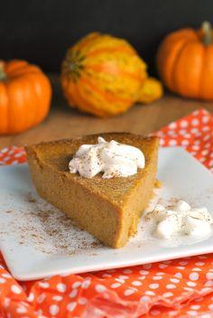 Recipe Repeat: Crustless Pumpkin Pie | Prevention RD | Bloglovin