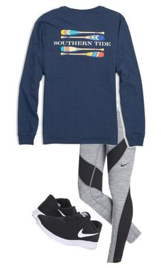 Back To School Outfit by jacquelinerosee on Polyvore featuring polyvore, fashion, style, Southern Tide, NIKE and clothing