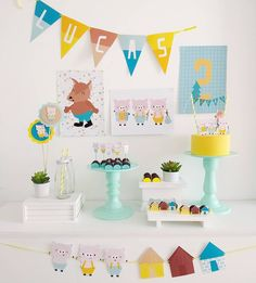 Planes Party, Party In A Box, Fiesta Party, Baby Shower, Dinosaur Party, Party Shop, Kids Events, Baby Party, Decoration