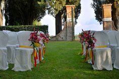 dettaglio sedie wedding