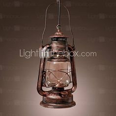 Antique Inspired Pendant Light with 1 Light - USD $ 79.99 Just gorgeous!!!
