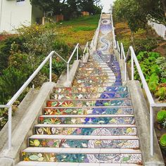 """One of the friends I was travelling with insisted we had to go to this out of the way are of San Francisco to see this staircase. It was worth the trip! . . . #travel #travelphotography #travelgram #mosaic #sanfrancisco #explore"" by @katnapping. #fslc #followshoutoutlikecomment #TagsForLikesFSLC #TagsForLikesApp #follow #shoutout #followme #comment #TagsForLikes #f4f #s4s #l4l #c4c #followback #shoutoutback #likeback #commentback #love #instagood #photooftheday #pleasefollow #pleaseshoutout…"