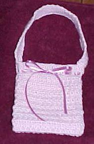 Textured Purse Crochet Pattern - Free Crochet Pattern Courtesy of Crochetnmore.com