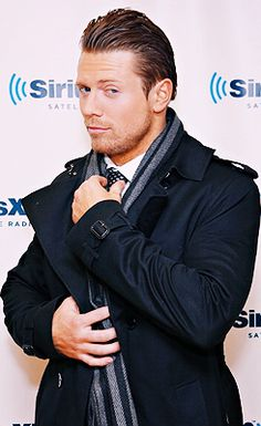"True life inspiration for Lindsey Gray's new leading man ""Bobby Breyer"", wrestler/actor Mike ""The Miz"" Mizanin. #NGN"