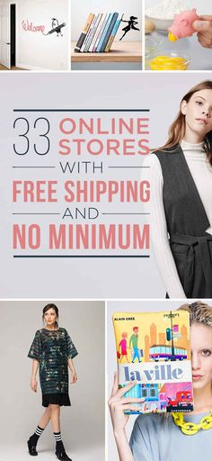 33 Online Stores With Free Shipping & No Minimum