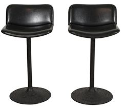 """Pair of """"Caribe"""" Bar Stools by Ilmari Tapiovaara for IFC 