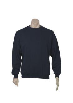 UNISEX CREW NECK FLEECY TOP NAVY S - 3XL, 5XL SW303 - FASHION BIZ Hoodies, Sweatshirts, Rugby, Men Sweater, Crew Neck, Unisex, Navy, Sweaters, Jackets