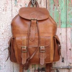 c38837c75a SOUK LEATHER BACKPACK. Handmade DesignLeather BackpackLeather BagsAmerican  MadeHand ...