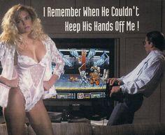 Denne har blitt parodiert mange ganger, men her er originalen. Reklame for konsollen Neo Geo. Det er vel ikke nødvendig å kommentere den ytterligere.