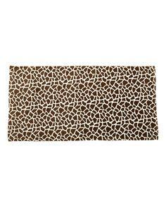 Carmel Towel Company - Animal Print Velour Beach Towel - 3060A Giraffe
