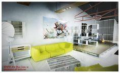 Amenajare mansarda urban chic - Art Deco Zone & Knox Design - Amenajari…