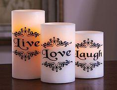 3 Inspirational Led Live Love Laugh Flameless Candles, http://www.amazon.com/dp/B00MNSHZ14/ref=cm_sw_r_pi_awdm_mN1fub1RNDP45
