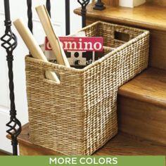 Woven Storage Step Basket