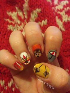 Autumn/ Thanksgiving nail art