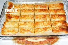 Patlıcanlı Çıtır Börek (Baklavalık Yufkadan)