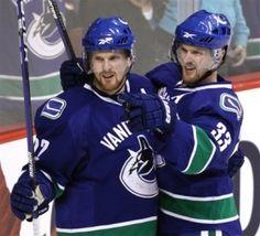 Sedin Twins!  Vancouver Canucks